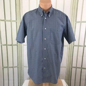 Lacoste Men's Button Front 100% Cotton Striped